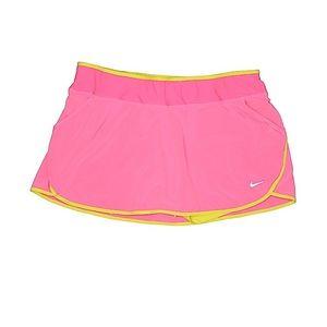 Nike pink athletic skort L
